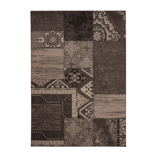 Tapis Tissé - USA - Los Angeles Argent