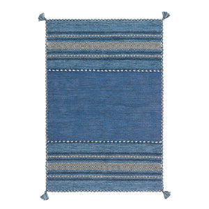Tapis Traditionnel Navarro 2915 Bleu