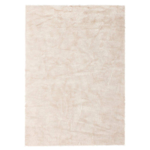 Tapis Tufté - Crown 110 Blanc - Rose