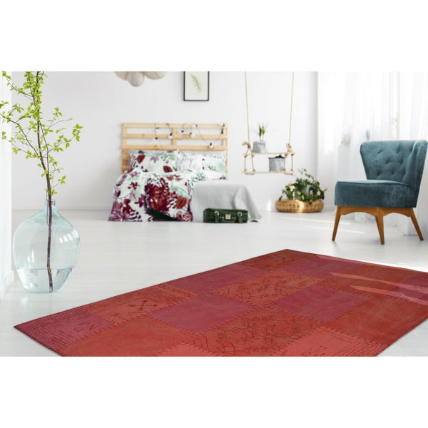 Tapis Vintage - Lyrical 210 Multi / Rouge