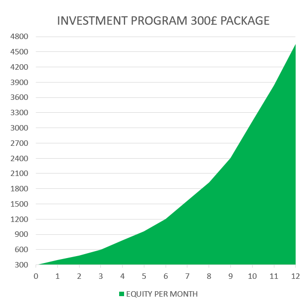 INVESTMENT 300 £ PACKAGE