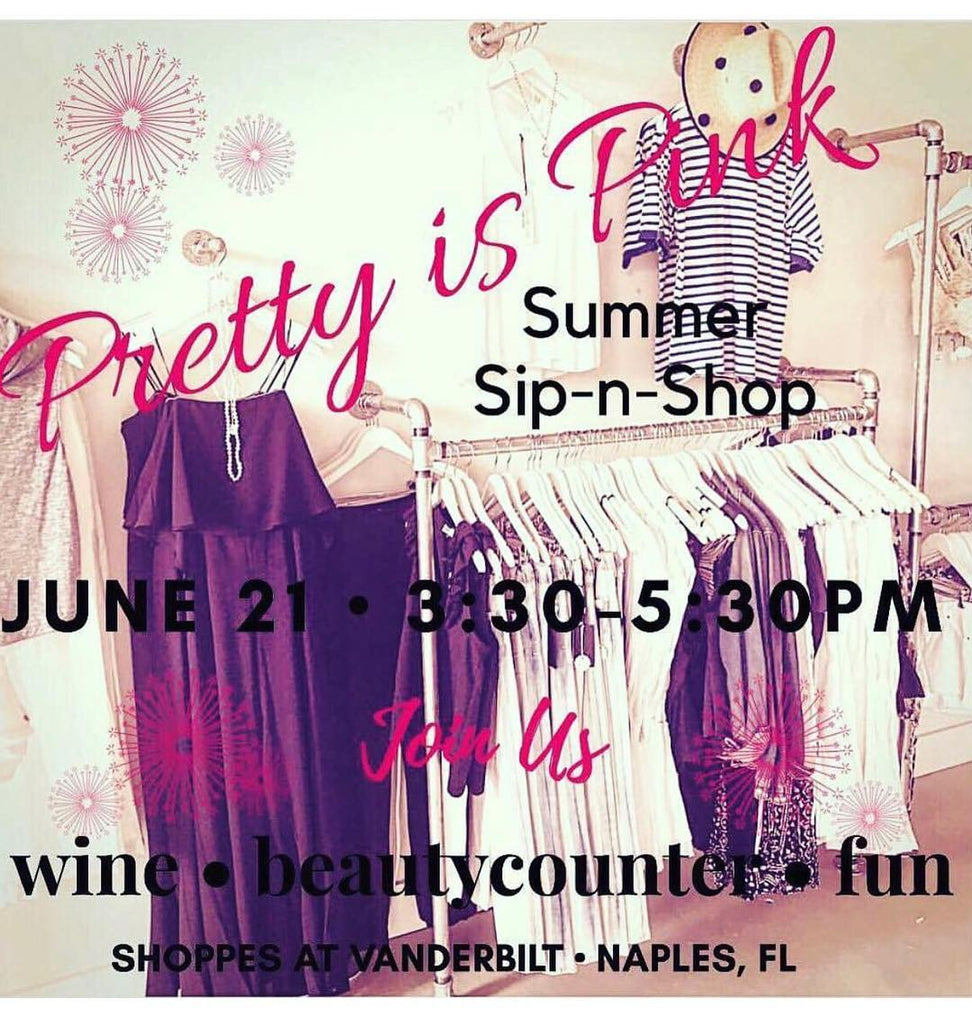 Summer Sip and Shop in Naples!
