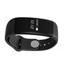 Yo+ H30 Smart Wristband OLED Touch Screen Display Bluetooth 4.0 Heart Rate Monitor Sleep Fitness Tracker For Android, Ios (Black)