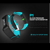 Yo+ P1(Best in class) Bluetooth Smart Band with Basic Blood Pressure, Heart Rate and Fitness Health Sport Bracelet