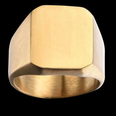 SQUARE  CURVED RING