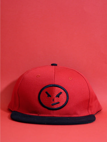 Red Face Snapback