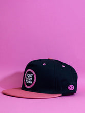 Dont Look Down Pink Snapback