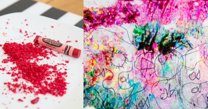 How to: Remove Regular Crayons from fabric - fresh, heat-set, or melted