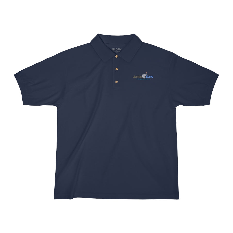 Jumbo Ears™ Men's Jersey Polo Shirt - JUMBO EARS