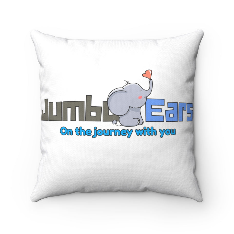 Jumbo Ears™ Spun Polyester Square Pillow - JUMBO EARS