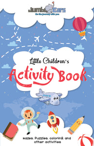 Little Children's Activity Book by Jumbo Ears - JUMBO EARS