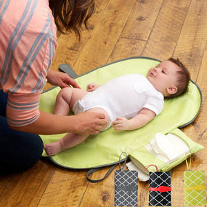 Waterproof Portable Baby Diaper Changing Mat - On the Go - - JUMBO EARS