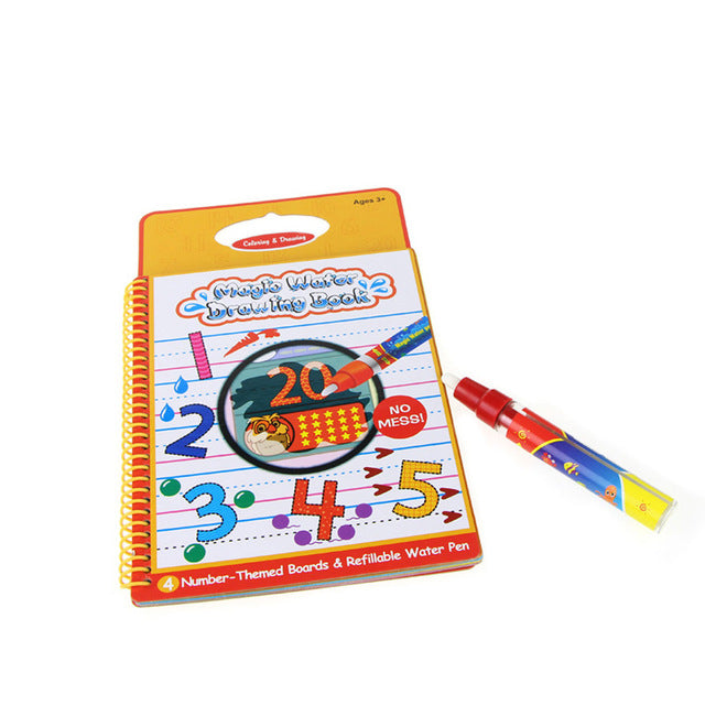 On the Go Magic Water Coloring Book with Magic Pen - JUMBO EARS