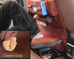 Foxy™ Leather Back Seat Organizer - JUMBO EARS