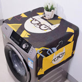 Washer Machine Linen Dust Cover and Storage with Kawaii Cartoon Cat - JUMBO EARS