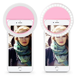 Pocket Selfie Ring Light for Smartphones - JUMBO EARS