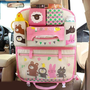 Kids Multi Pocket Back Seat Organizer - JUMBO EARS