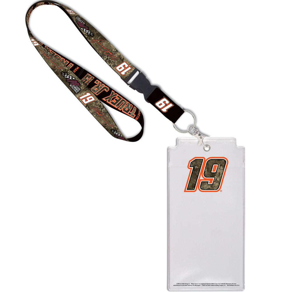 Martin Truex Jr. 2020 Camo No. 19 Credential Holder/Lanyard
