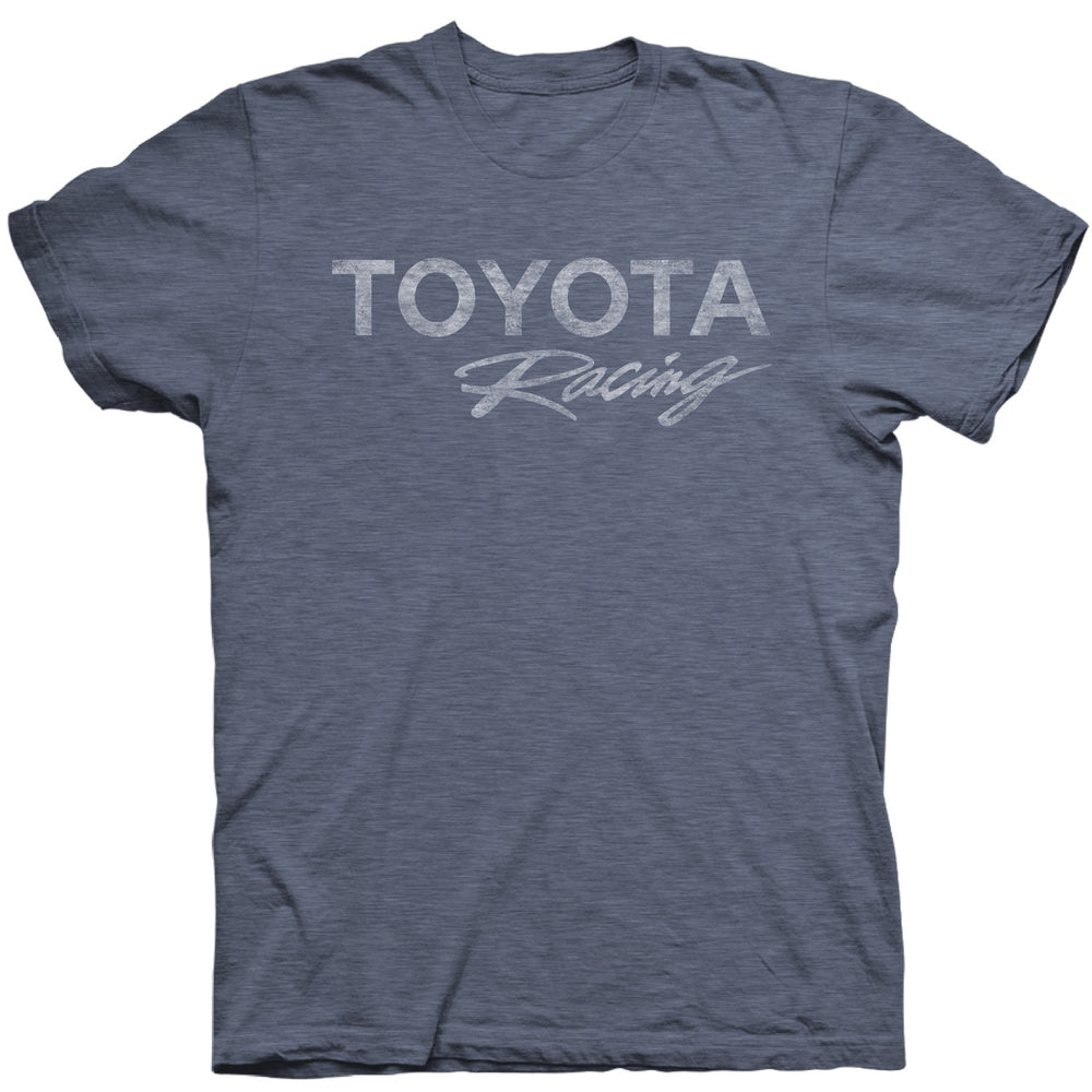 Toyota Racing Vintage Grey/Blue Soft Hand Tee
