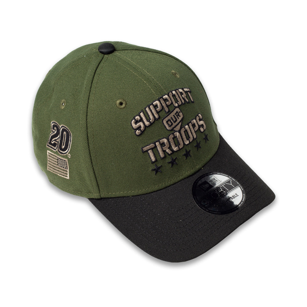 Christopher Bell 2021 Military Salute Support Our Troops 940 Snapback
