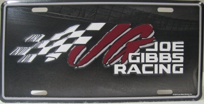 JGR Metal License Plate