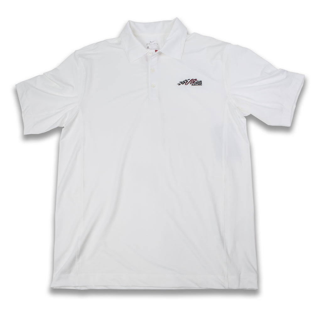 JGR Nike Sphere Dry Diamond White Polo