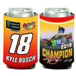 Kyle Busch 2019 MENCS Champion Can Cooler