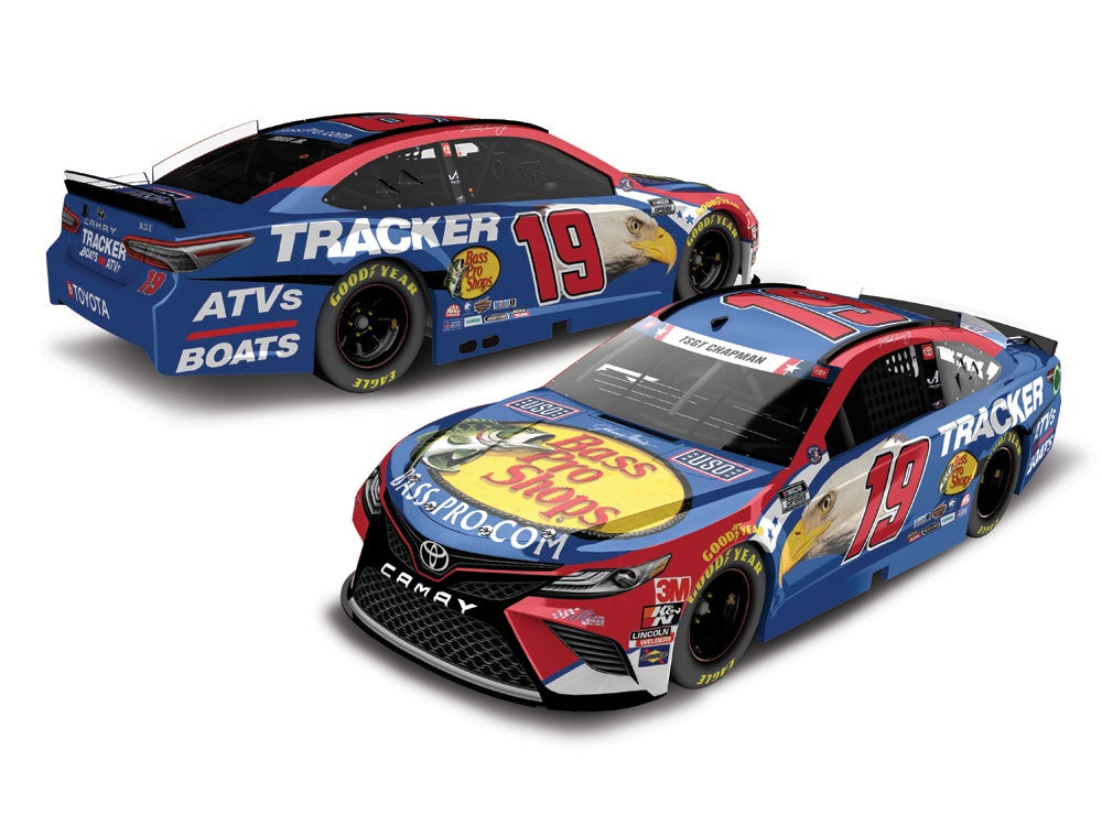 2020 1:64 Martin Truex Jr. Bass Pro Shops Patriotic Die Cast