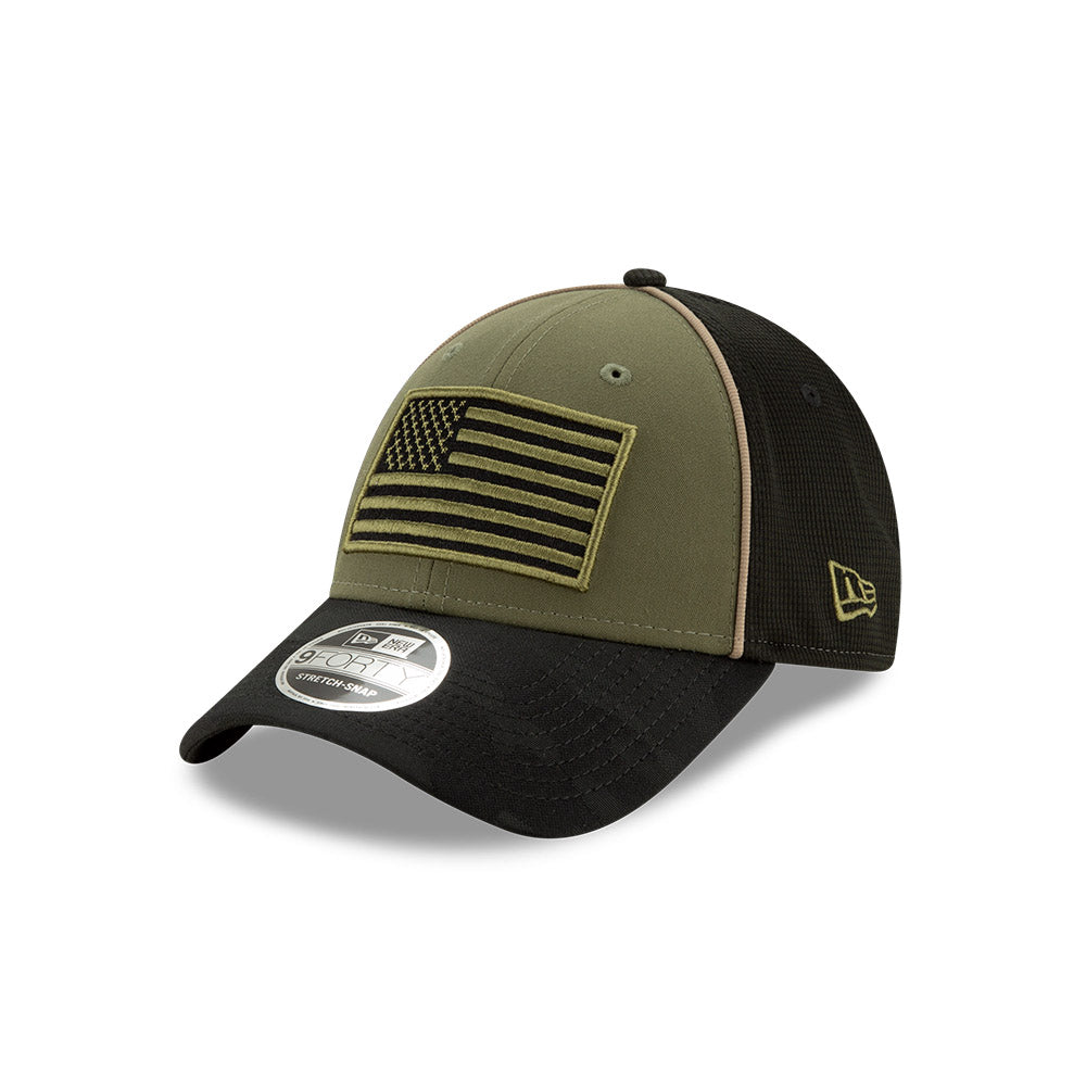 Kyle Busch 2020 Military Salute New Olive/ Black New Era 940 Hat