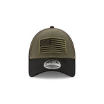 Denny Hamlin 2020 Military Salute New Olive/Black New Era 940 Hat