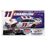 Denny Hamlin FedEx Daytona 500 Champ 2020 3x5 Flag