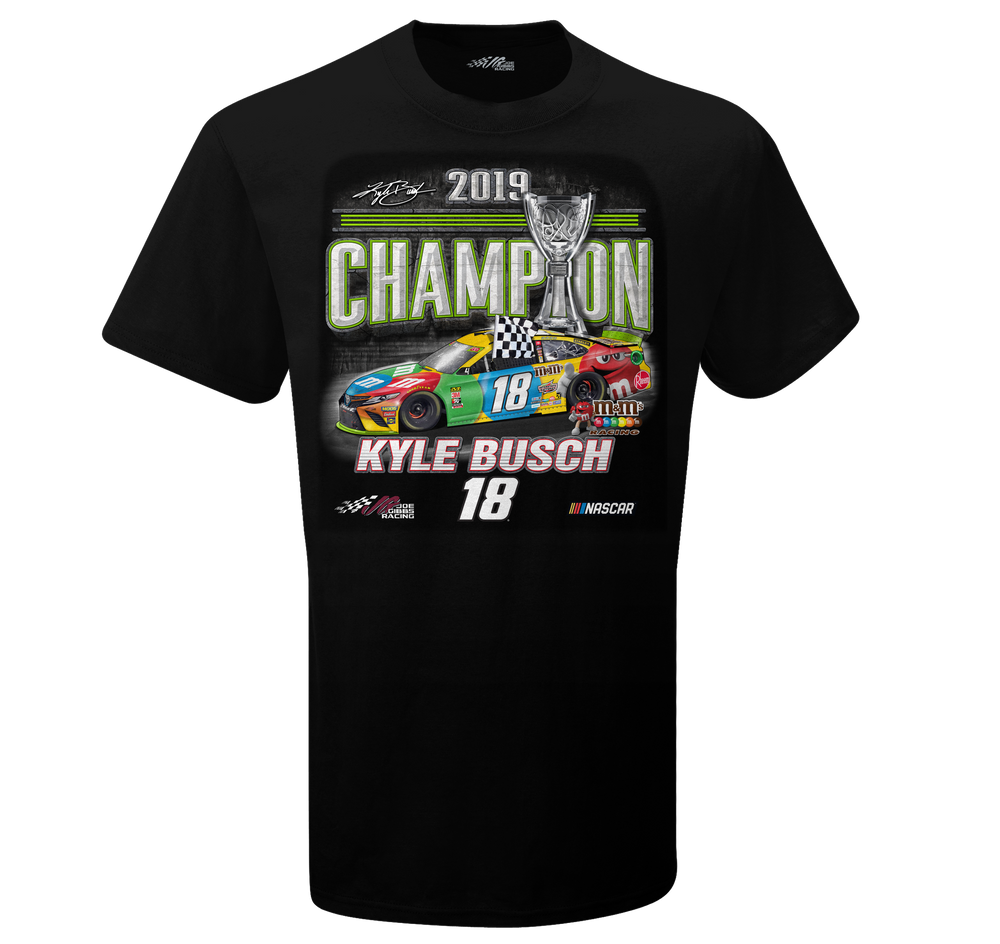 2019 Kyle Busch MENCS Official Champ Youth Tee