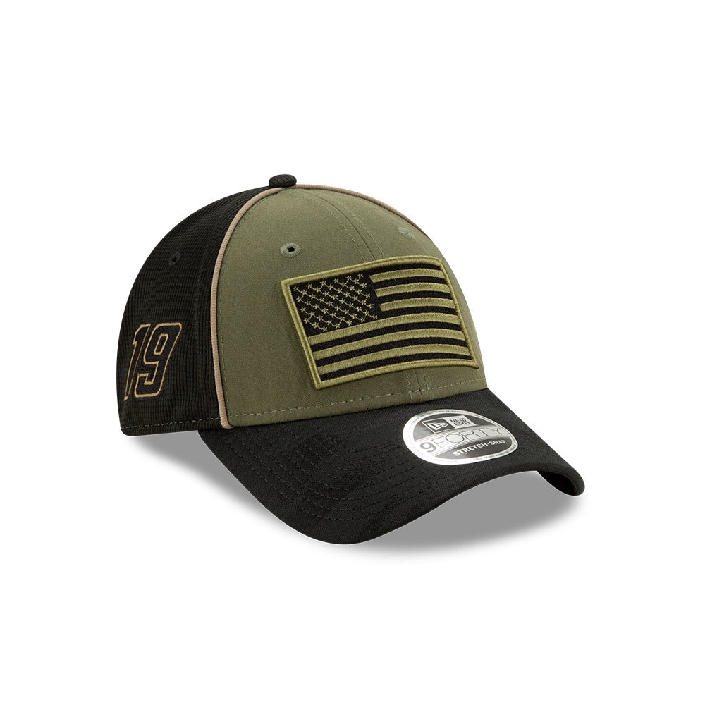 Martin Truex Jr. 2020 Military Salute New Olive/ Black New Era 940 Hat