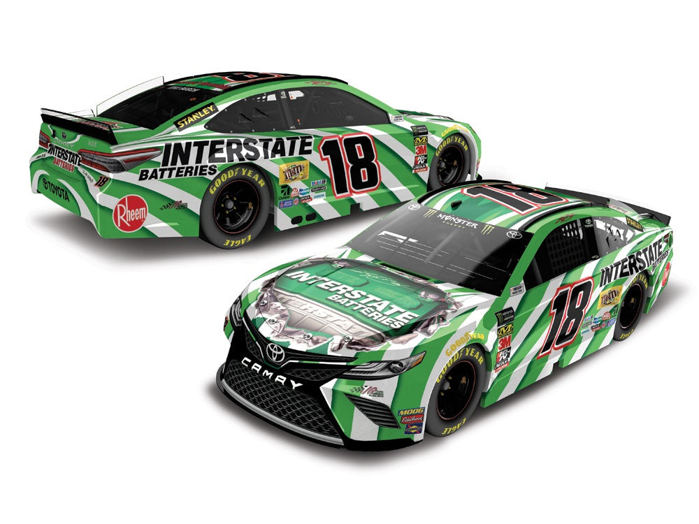2019 1:64 Kyle Busch Interstate Batteries Diecast