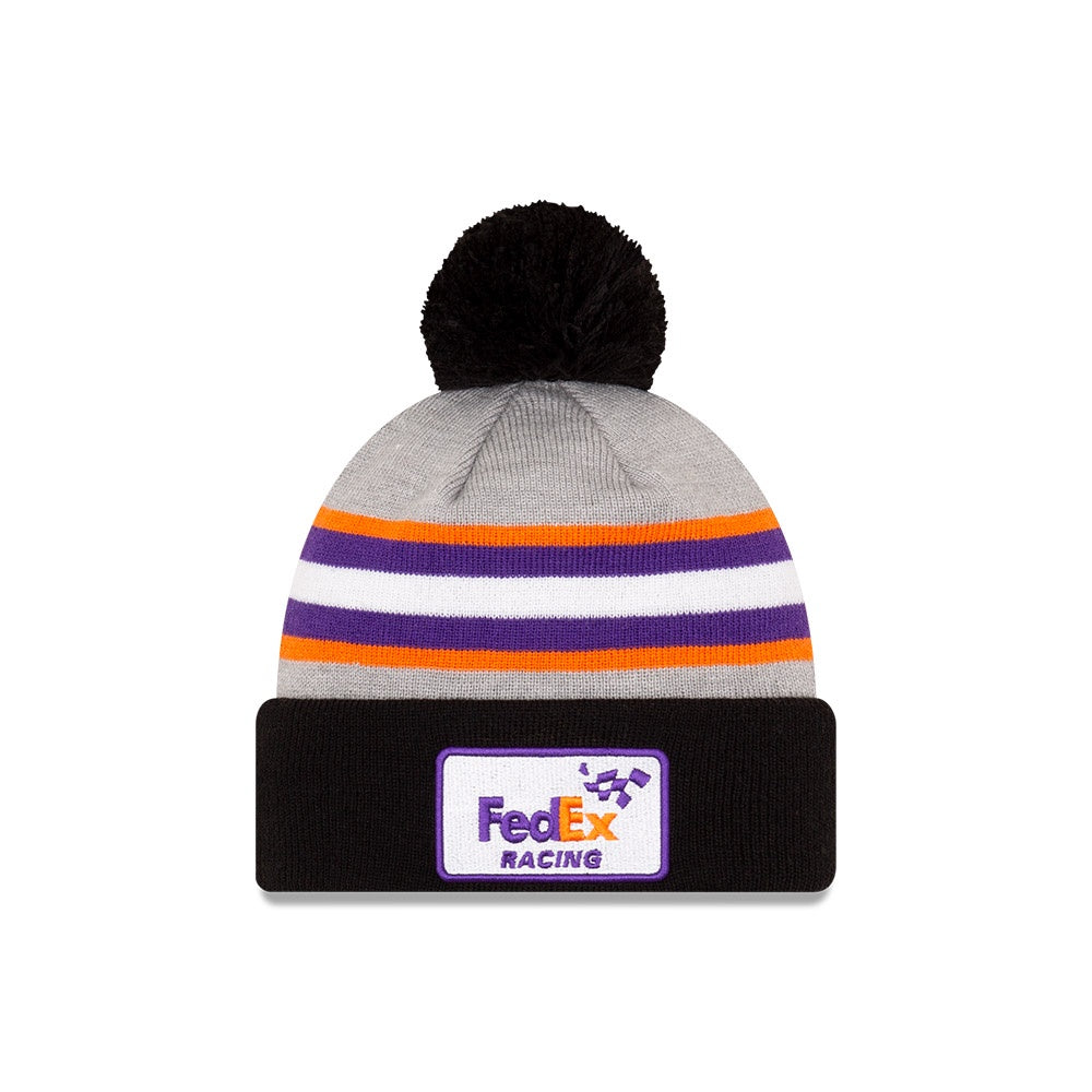 Denny Hamlin FedEx Racing Knit Pom Cuff