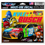 Kyle Busch M&M Multi Use Decal 5 x 6