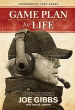 "Joe Gibbs' ""Game Plan for Life"" Softcover Book"