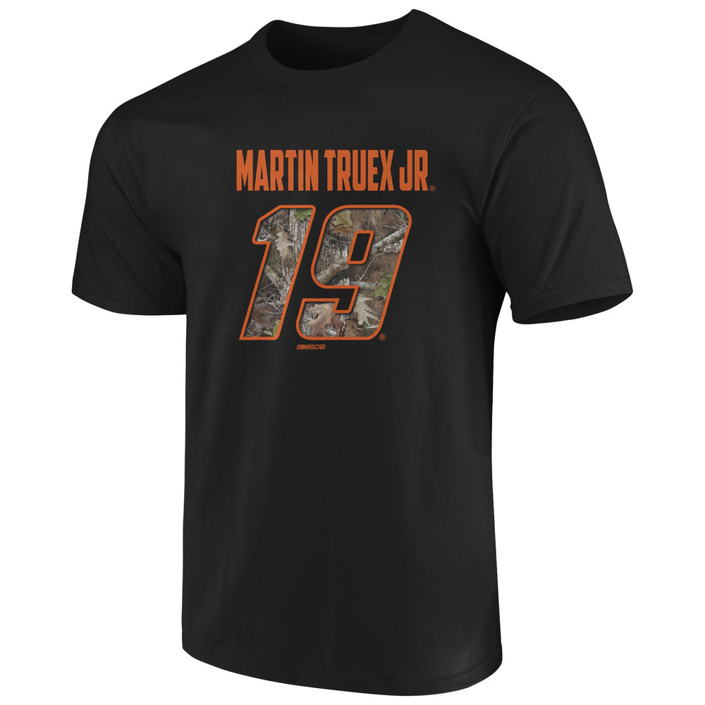 Martin Truex Jr. true timber black camo t-shirt