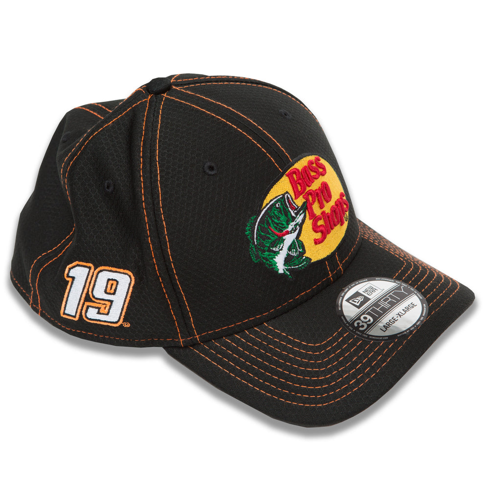Martin Truex Jr 2020 Black Bass Pro Shops New Era 3930 Hat