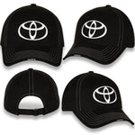 Toyota Black brushed Twill Bug Logo Cap