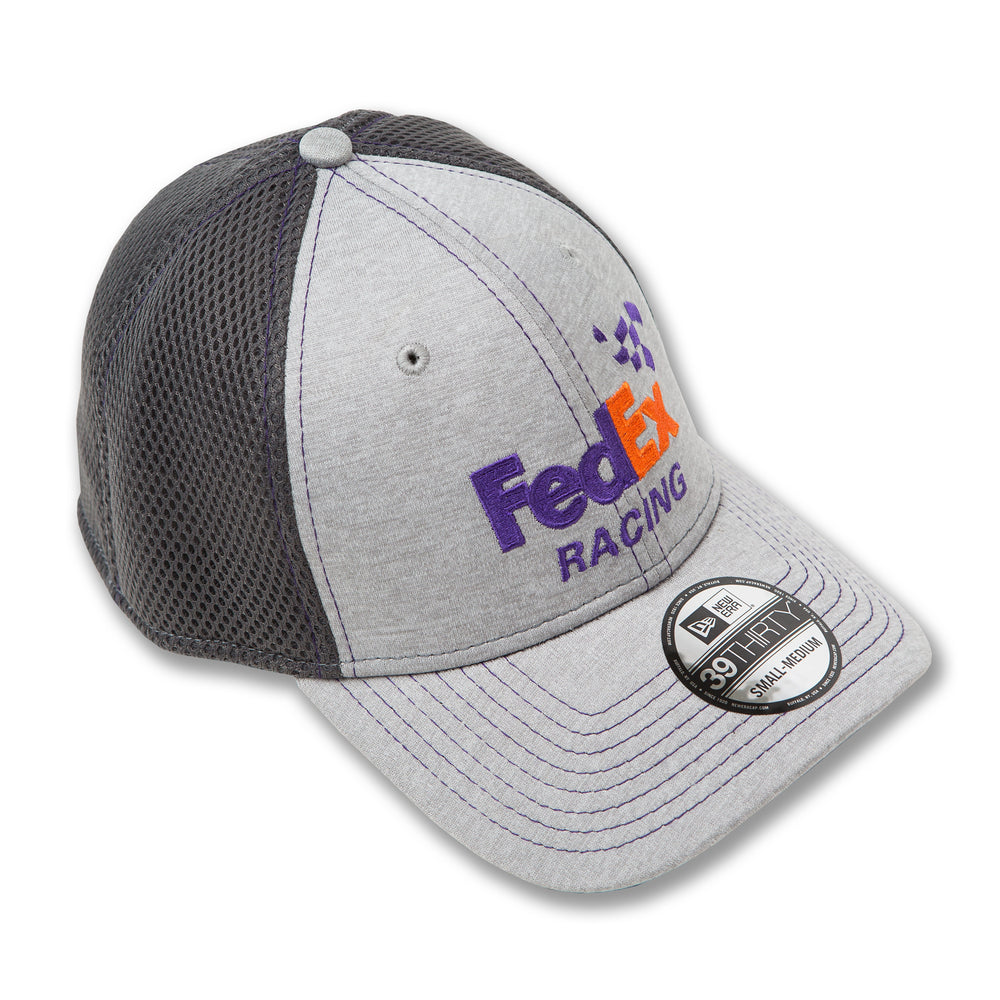 Denny Hamlin Shadow Tech Neo FedEx New Era 3930 Gray Hat