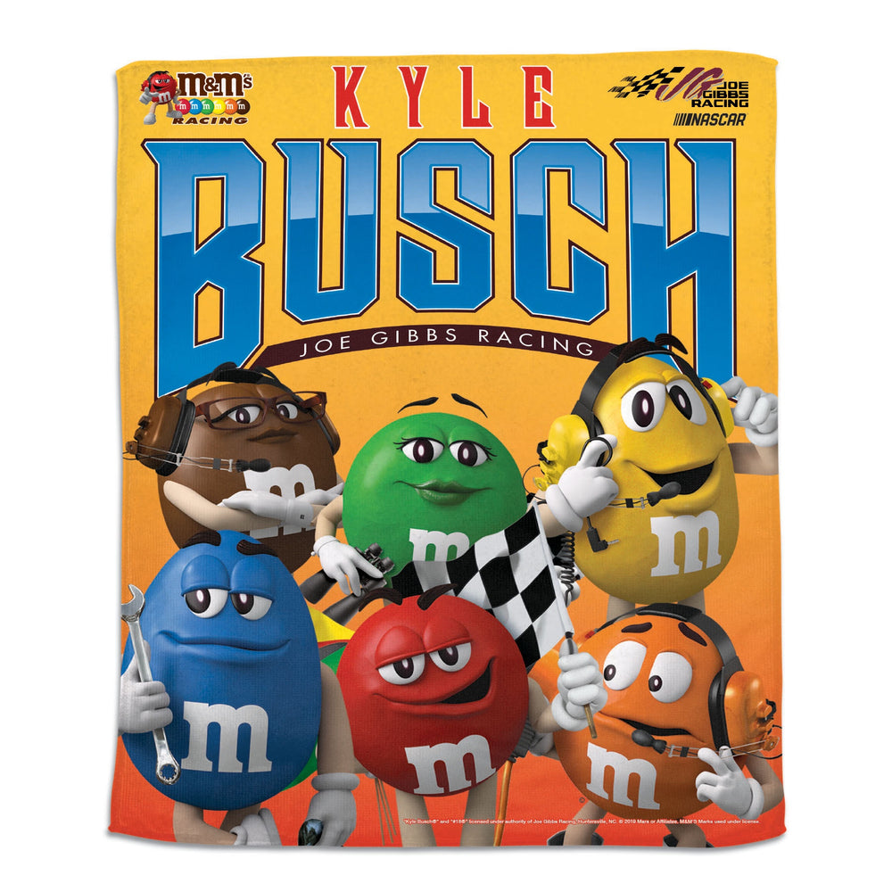 Kyle Busch M&M's Rally Towel