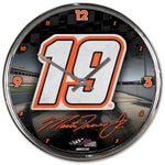Martin Truex Jr No. 19  Chrome Clock