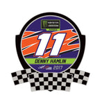 Denny Hamlin 2017 Playoff Collector Pin