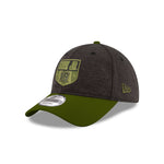 Martin Truex Jr. 2019 Military Salute Black Olive New Era 940 Hat