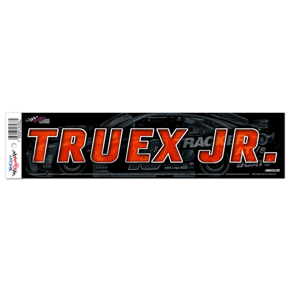 Martin Truex Jr. Bumper Sticker
