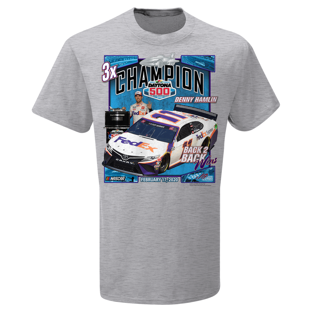 Denny Hamlin 2020 Daytona 500 Official Win Tee