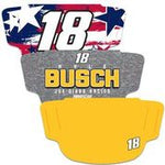 Kyle Busch 3-Pack Fan Masks Face Covering