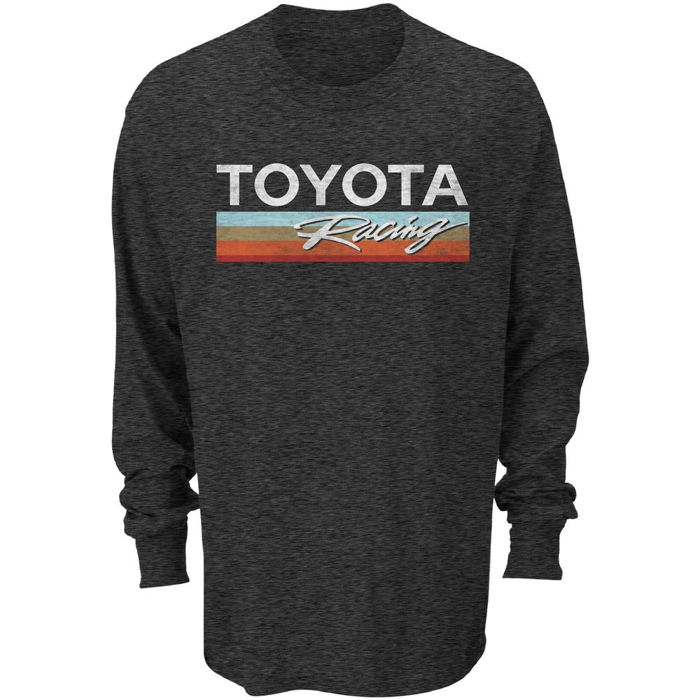 Toyota Racing Long Sleeve Black Frost Tee
