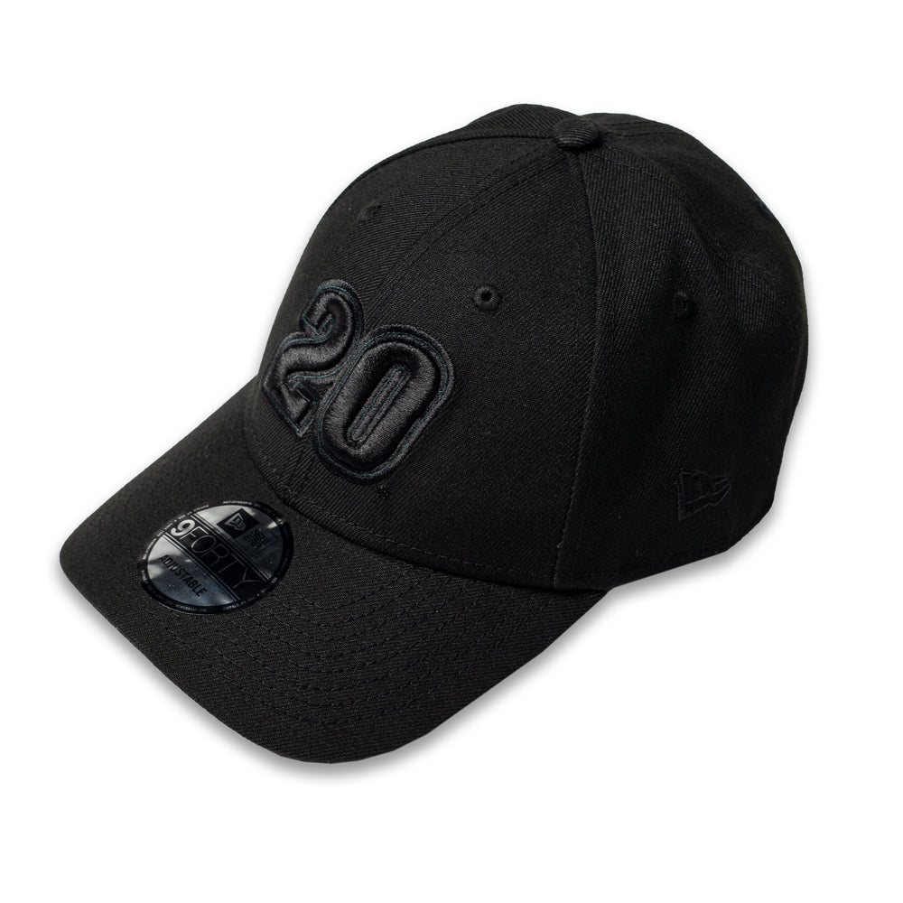 Christopher Bell Blackout Number New Era 940 Hat